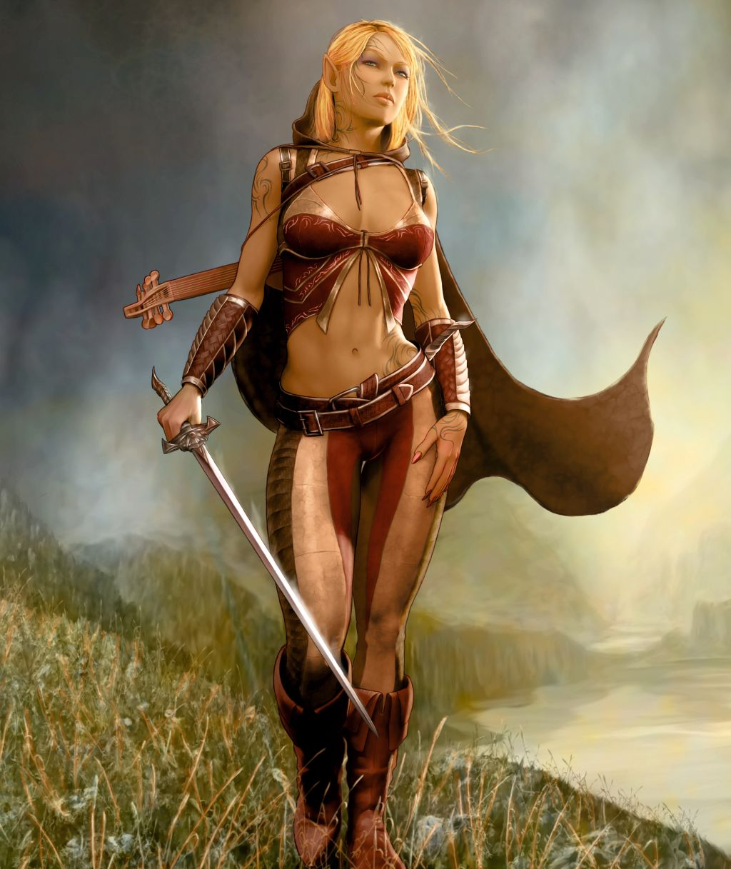 Dark elf pin-up 3d hentia gallery